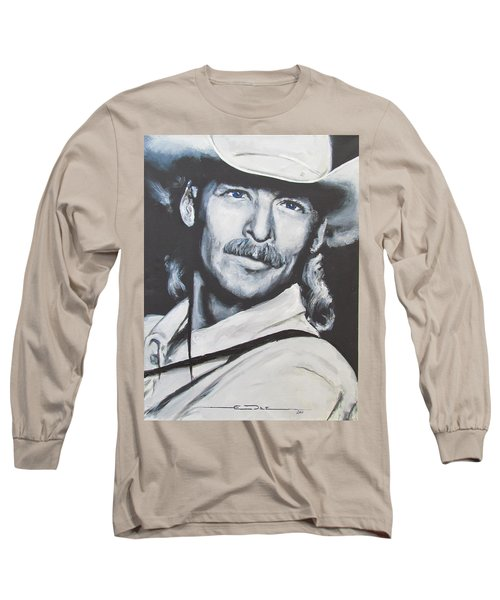 Alan Jackson - In The Real World Long Sleeve T-Shirt