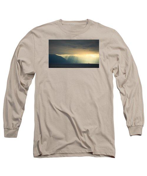 Alaska Inside Passage Under The Clouds Long Sleeve T-Shirt by Joni Eskridge