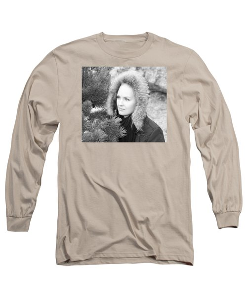 Alaskan Portrait Long Sleeve T-Shirt