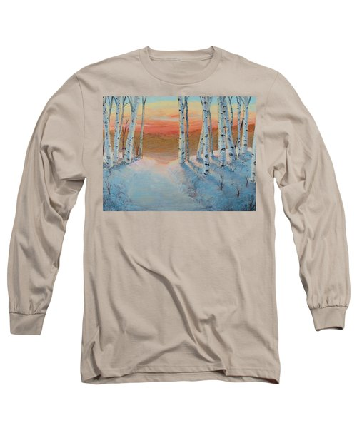 Alaskan Road Long Sleeve T-Shirt