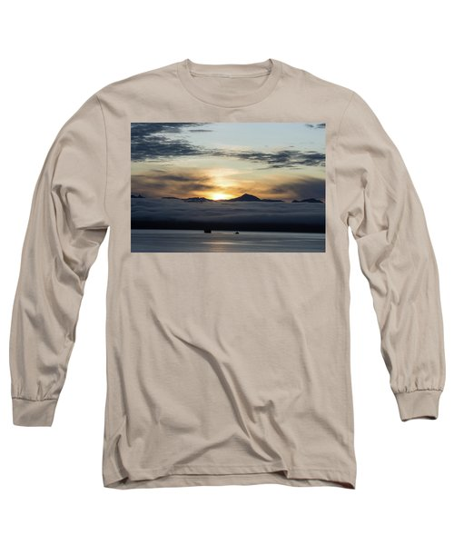 Alaskan Sun Rise Long Sleeve T-Shirt