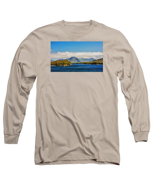 Alaskan Wilderness Long Sleeve T-Shirt by Lewis Mann