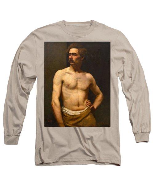 Albert Edelfelt Male Model Long Sleeve T-Shirt