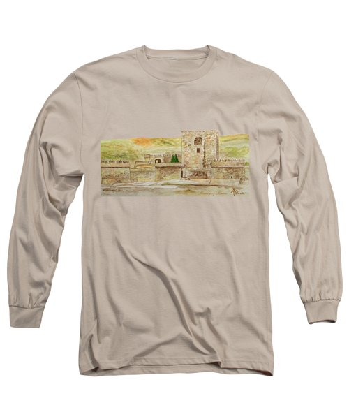 Alcazaba Of Almeria Long Sleeve T-Shirt
