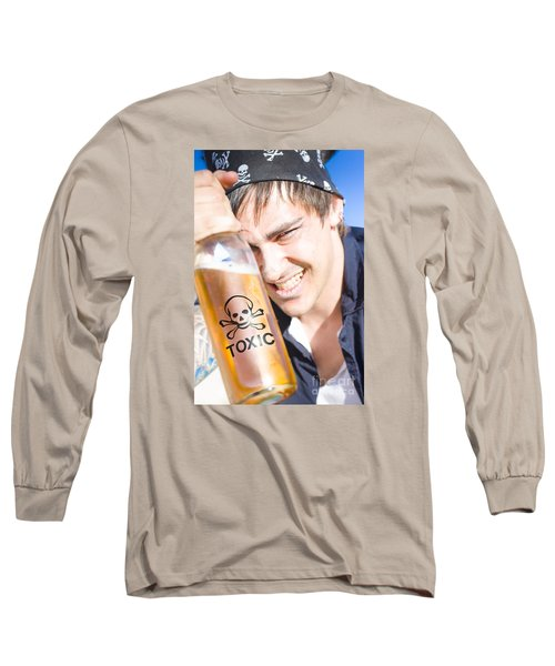 Long Sleeve T-Shirt featuring the photograph Yo Ho Ho And A Bottle Of Rum by Jorgo Photography - Wall Art Gallery