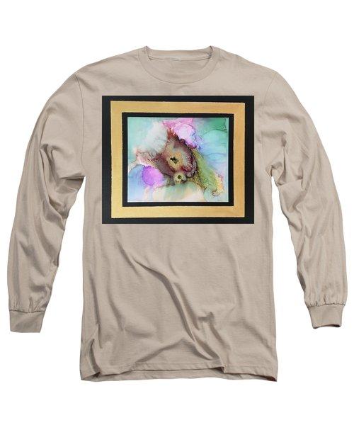 Alcoholic Flower Long Sleeve T-Shirt by Karin Eisermann