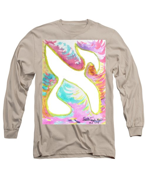 Aleph On Fire Long Sleeve T-Shirt