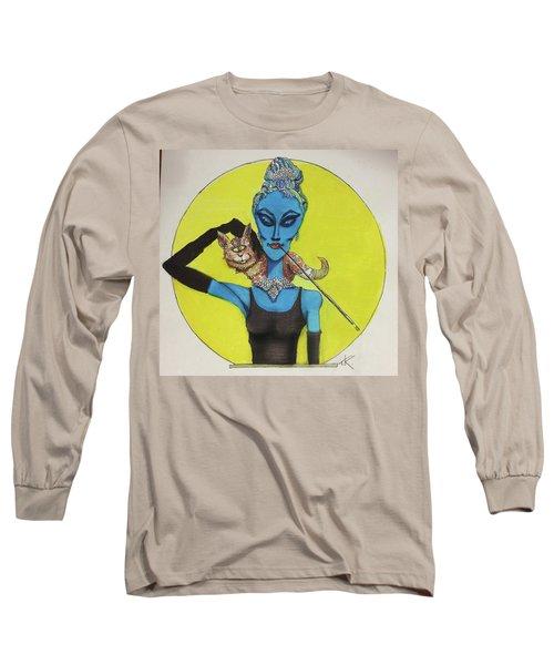 Alien At Tiffany's Long Sleeve T-Shirt