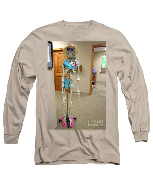 Long Sleeve T-Shirt featuring the photograph Alien Beyond The Door by Marie Neder