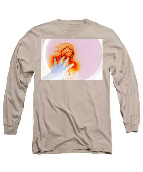 Long Sleeve T-Shirt featuring the photograph Alien Encounter Outside Looking In by Paul W Faust - Impressions of Light