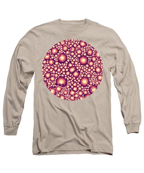 Alien Molecular Structure  Long Sleeve T-Shirt