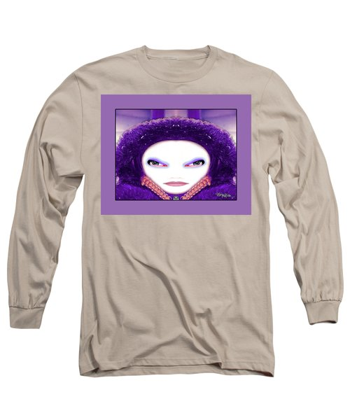 Long Sleeve T-Shirt featuring the photograph Alien Mom #194 by Barbara Tristan