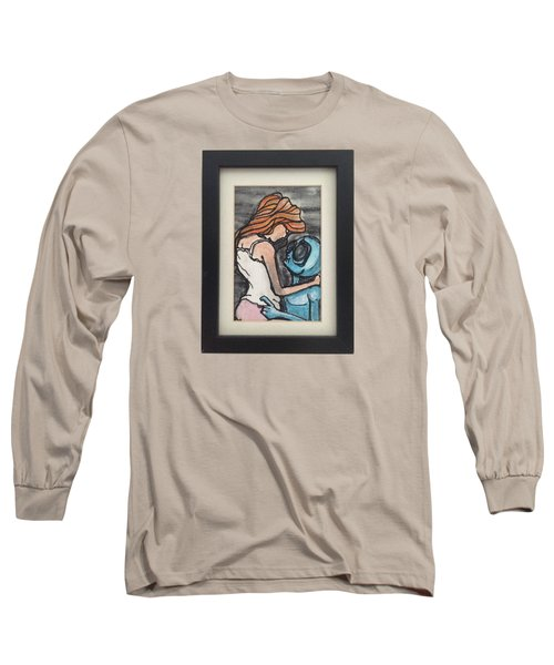 Alien Seduction Long Sleeve T-Shirt by Similar Alien