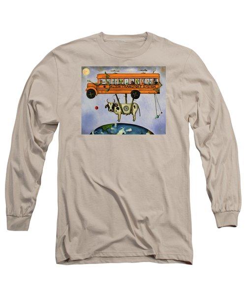 Alien Transport System Long Sleeve T-Shirt