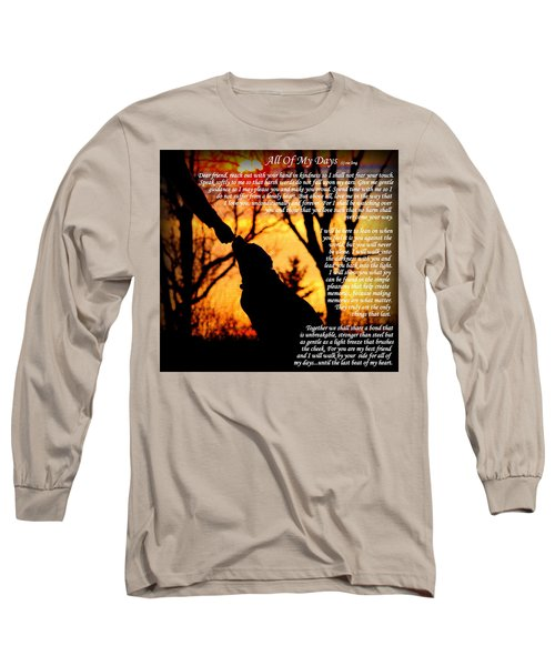 All Of My Days Version Three Long Sleeve T-Shirt