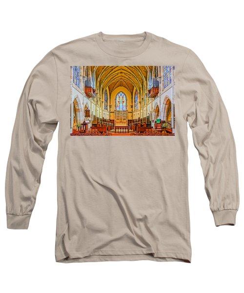 All Saints Chapel, Interior Long Sleeve T-Shirt