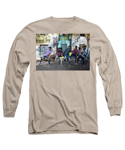 All The Moves Long Sleeve T-Shirt