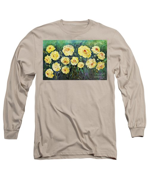 All Yellow Roses Long Sleeve T-Shirt