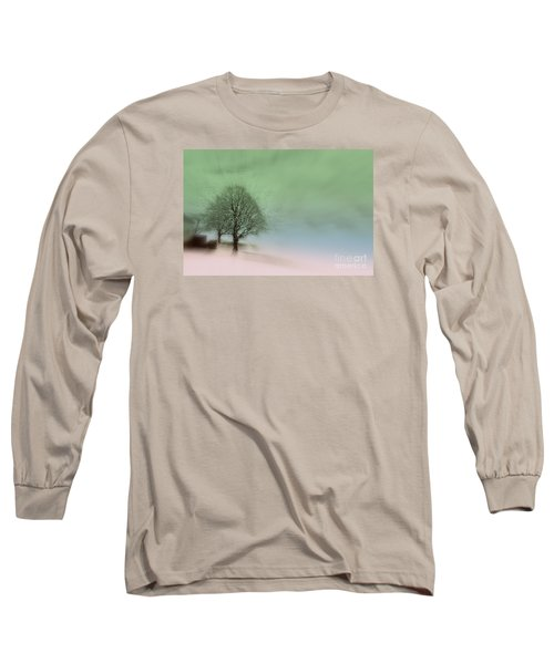 Long Sleeve T-Shirt featuring the photograph Almost A Dream - Winter In Switzerland by Susanne Van Hulst