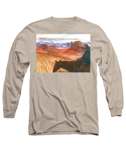 Almost Home Long Sleeve T-Shirt by Eric Samuelson
