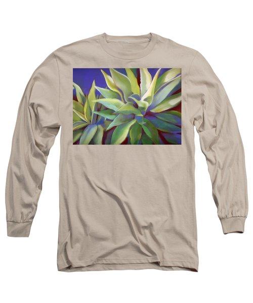 Aloe Plants In Big Sur Long Sleeve T-Shirt