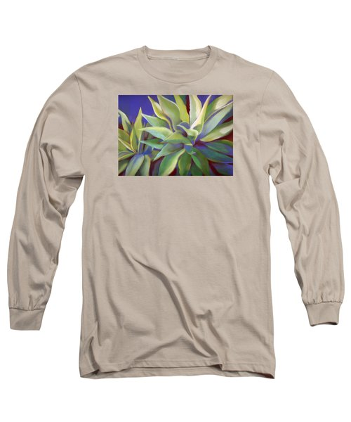 Aloe Plants In Big Sur Long Sleeve T-Shirt