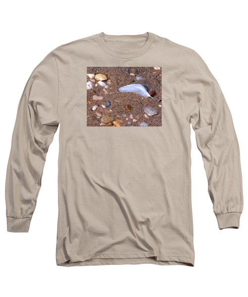 Long Sleeve T-Shirt featuring the photograph Alone Among Strangers by Lynda Lehmann