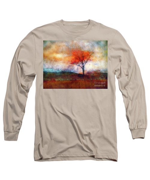 Alone In Colour Long Sleeve T-Shirt