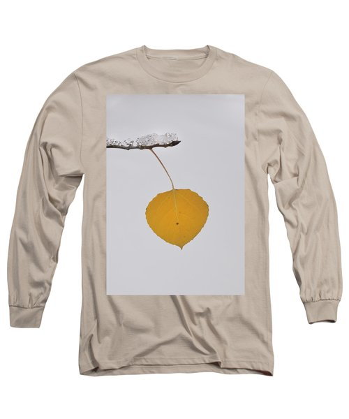 Alone In The Snow Long Sleeve T-Shirt