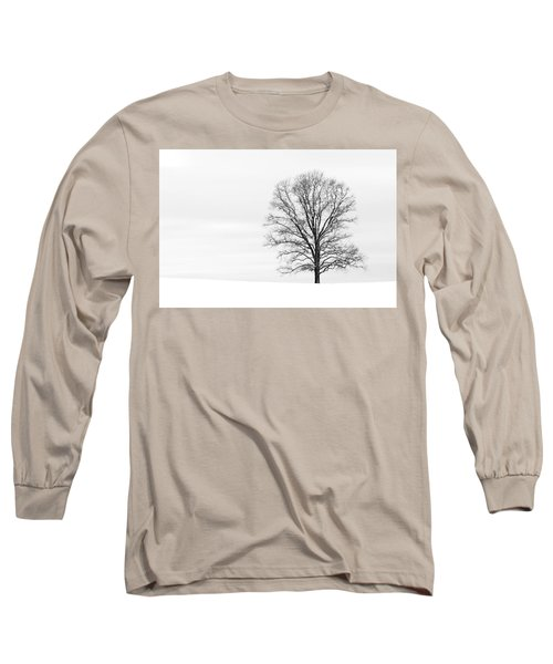 Alone On A Hill Long Sleeve T-Shirt
