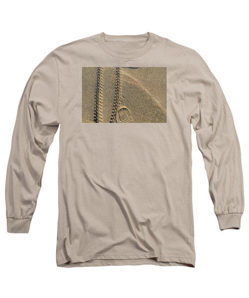 Long Sleeve T-Shirt featuring the photograph Along The Beach  by Lyle Crump