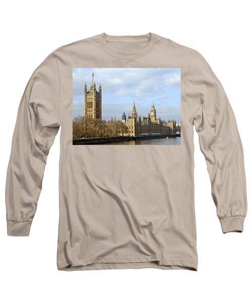 Along The Thames Long Sleeve T-Shirt