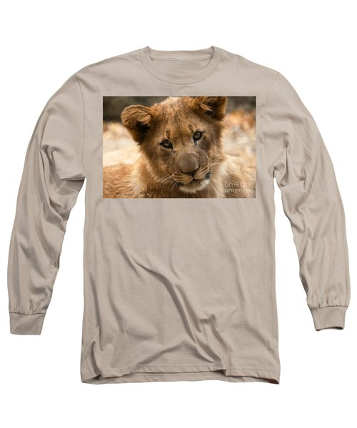 Long Sleeve T-Shirt featuring the photograph Am I Cute? by Christine Sponchia