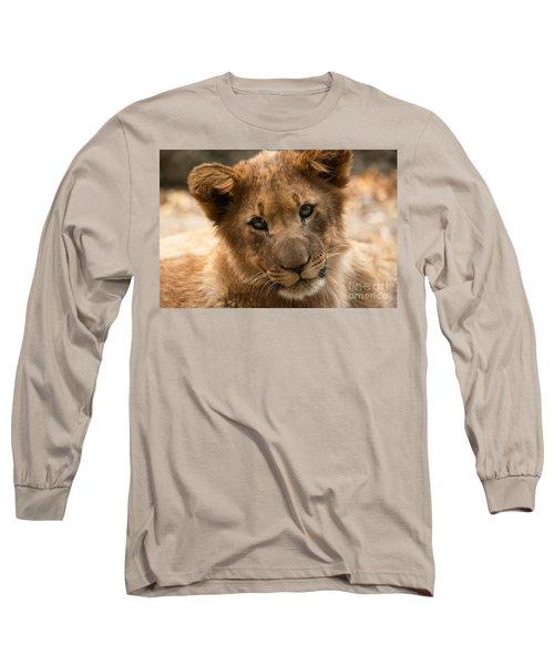 Am I Cute? Long Sleeve T-Shirt by Christine Sponchia