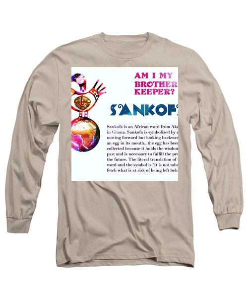 Am I My Brother's Keeper? Dense Long Sleeve T-Shirt
