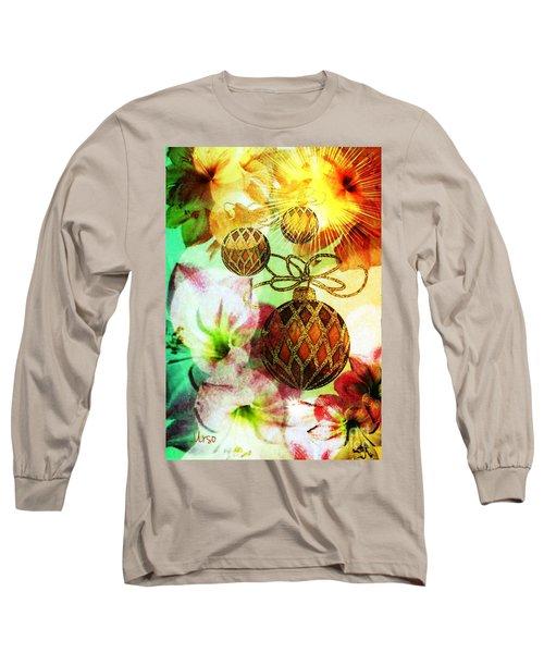 Amaryllis Christmas Long Sleeve T-Shirt
