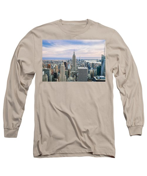 Amazing Manhattan Long Sleeve T-Shirt