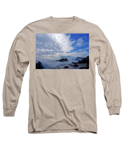 Amazing Superior Day Long Sleeve T-Shirt by Sandra Updyke