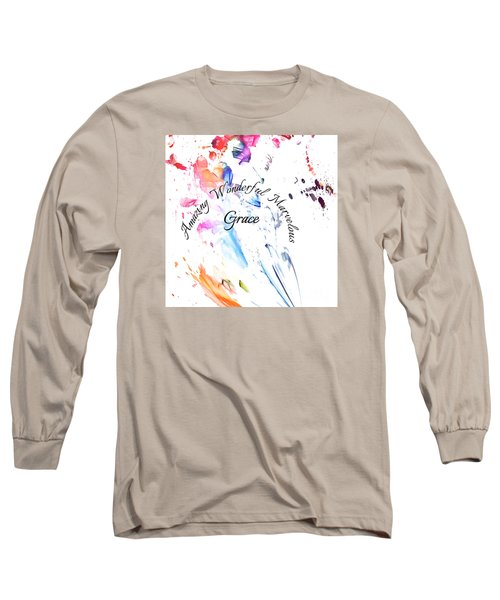 Amazing Wonderful Marvelous Grace Long Sleeve T-Shirt