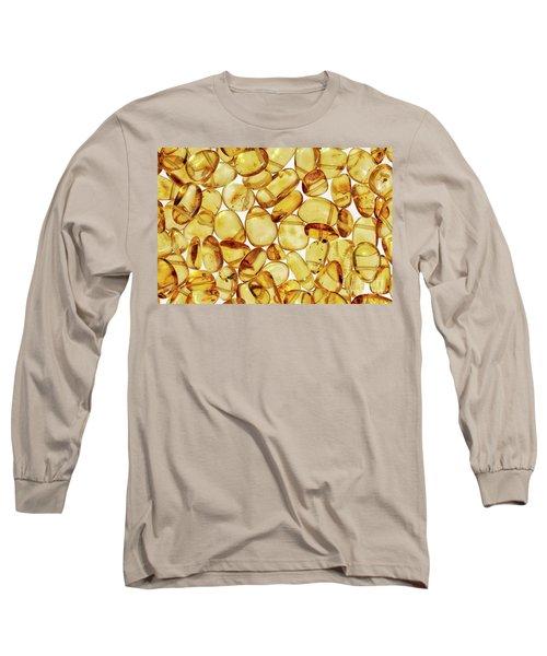Amber #2h2a0902 Long Sleeve T-Shirt by Andrey Godyaykin