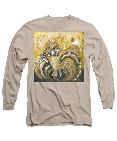 Amber Is The Color Of Your Energy Long Sleeve T-Shirt