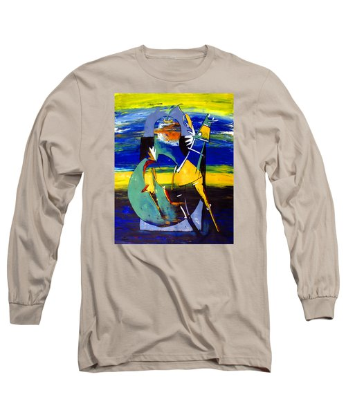 Ameeba 32- Horse And Pear Long Sleeve T-Shirt