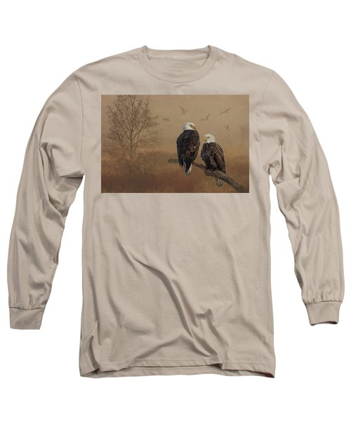 American Bald Eagle Family Long Sleeve T-Shirt