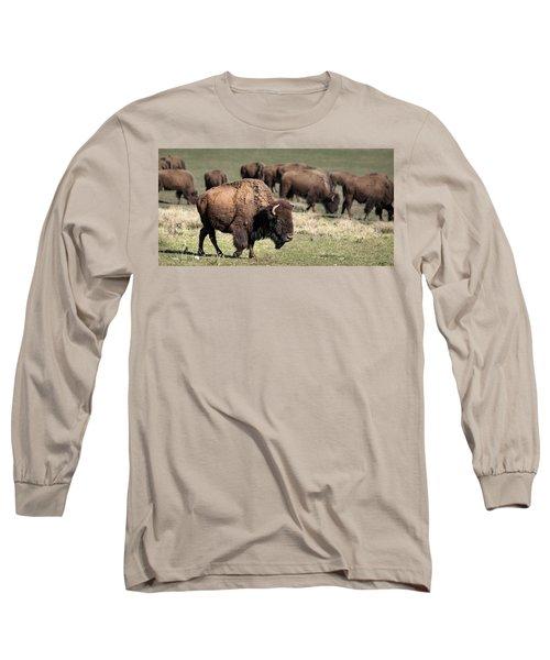 American Bison 5 Long Sleeve T-Shirt