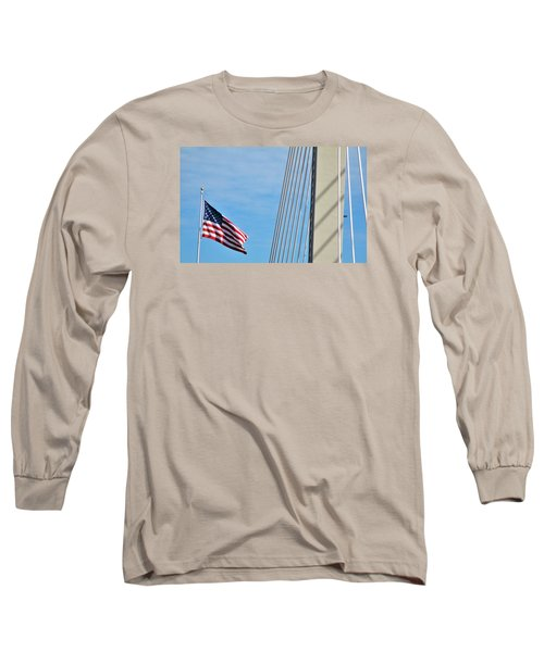 American Afternoon Long Sleeve T-Shirt by Martin Cline