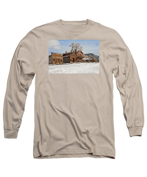 American Ghost Town Long Sleeve T-Shirt