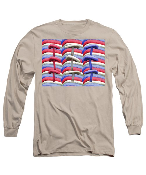 Long Sleeve T-Shirt featuring the photograph American Mushrooms by Rockin Docks Deluxephotos