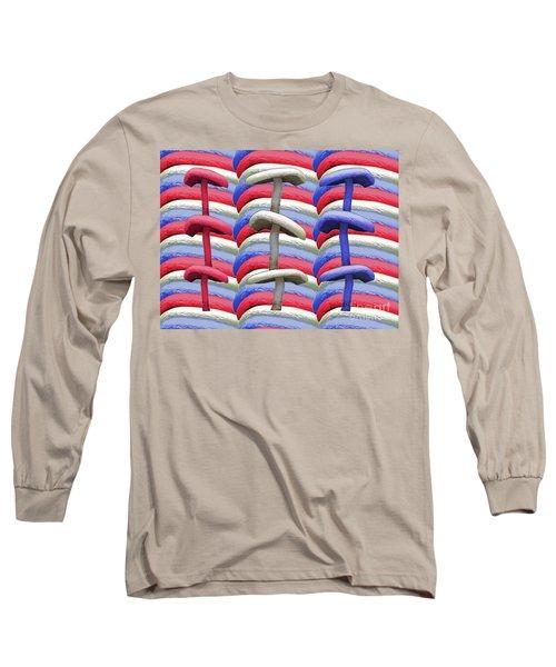 American Mushrooms Long Sleeve T-Shirt