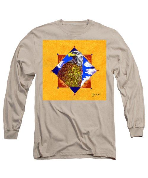 American Spirit Long Sleeve T-Shirt by John Keaton