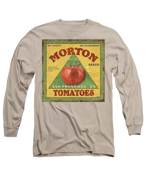 American Veggies 2 Long Sleeve T-Shirt by Debbie DeWitt